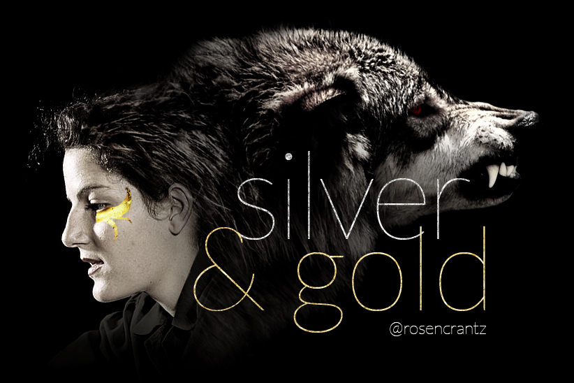 Silver & Gold title art